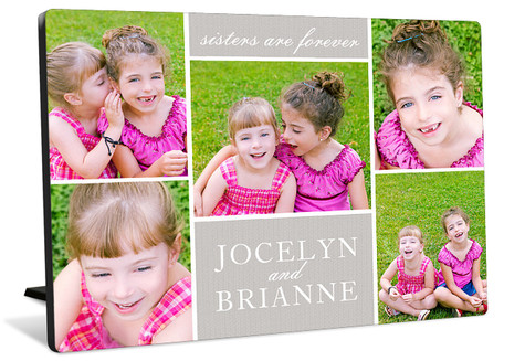 Forever Friends Tabletop Photo Panel