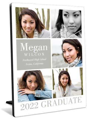 Simple Grad Tabletop Photo Panel