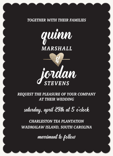 Sweetheart Wedding Invitations