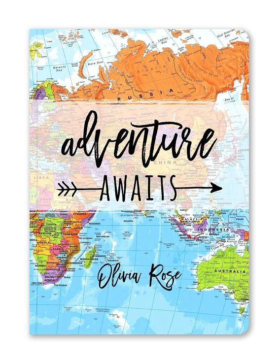 Adventure Awaits Custom Journals