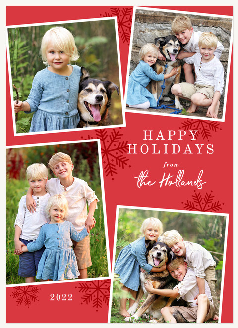 Signed With Love Personalized Holiday Cards