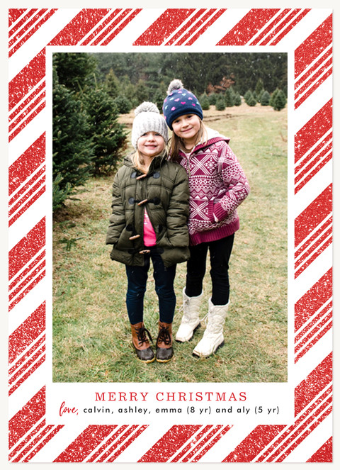 Sprinkled with Sugar Personalized Holiday Cards