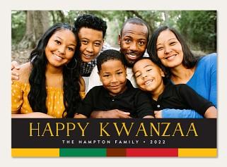 Colorful Kwanzaa